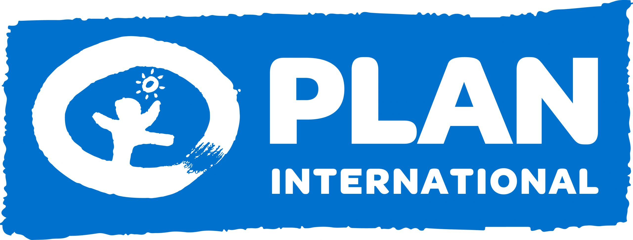 Plan International logo (blue)