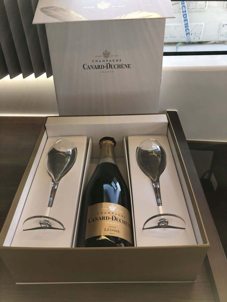 Champagner von Lagoon