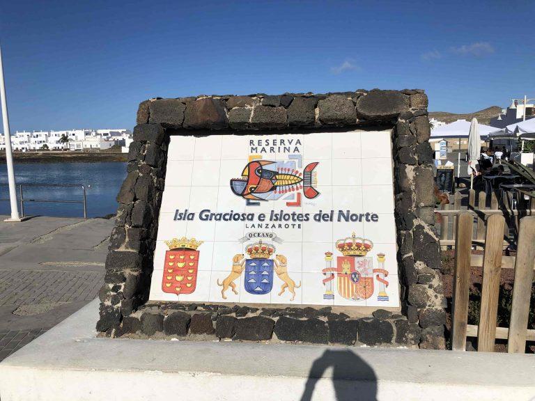 Wir sind tatsächlich auf La Graciosa