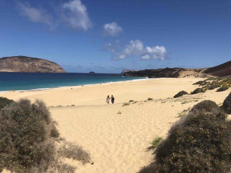 Der Traumstrand Playas de las Conchas