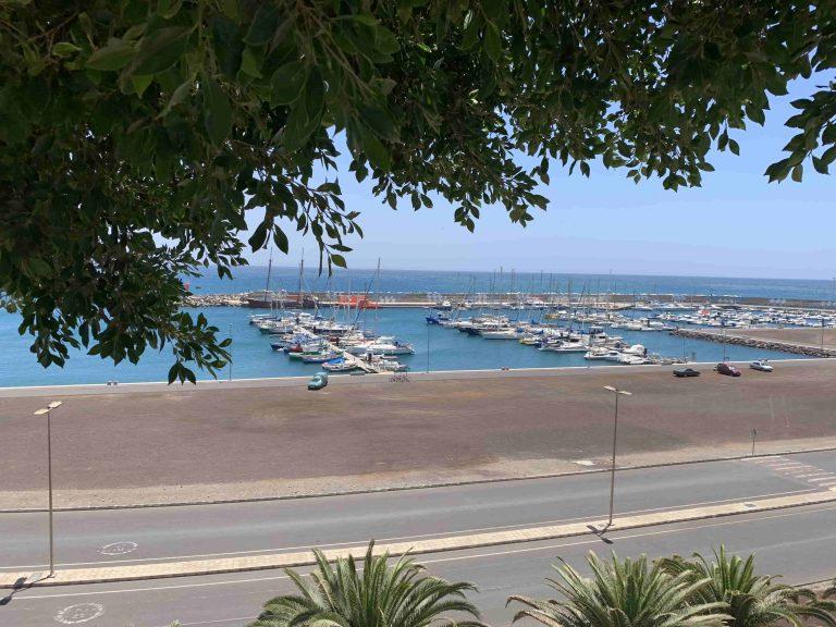 Ein Blick auf die Marina