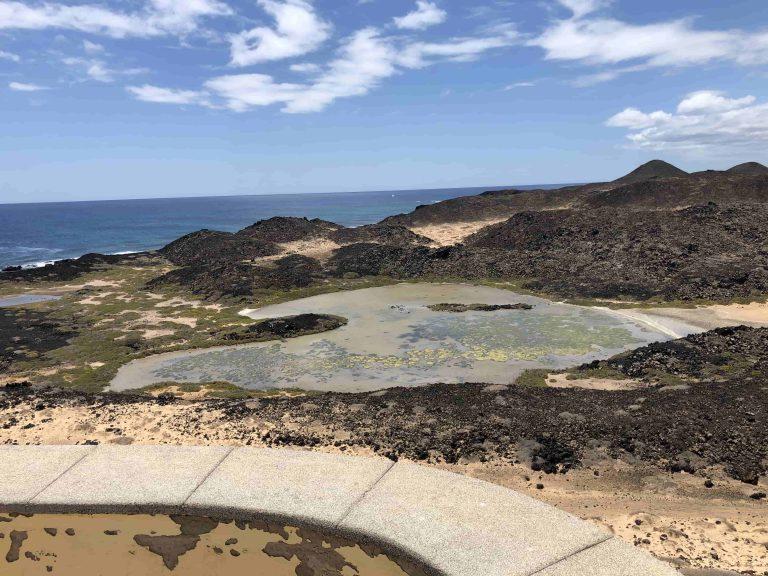 Landschaft auf der Insel
