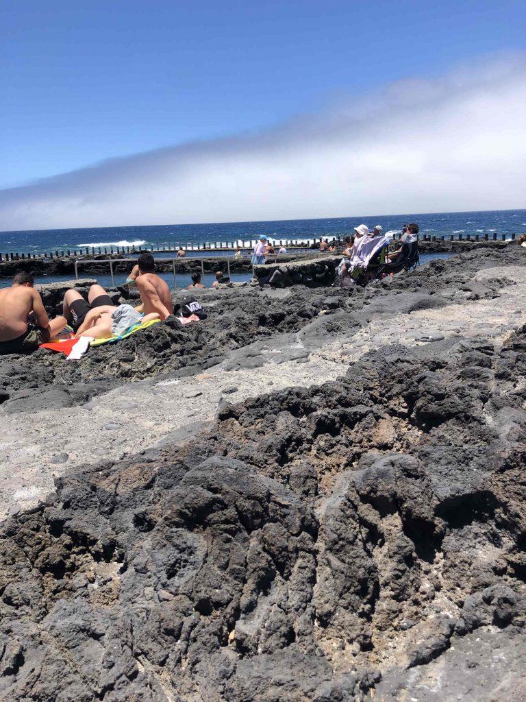 Strandleben mal ohne Sand