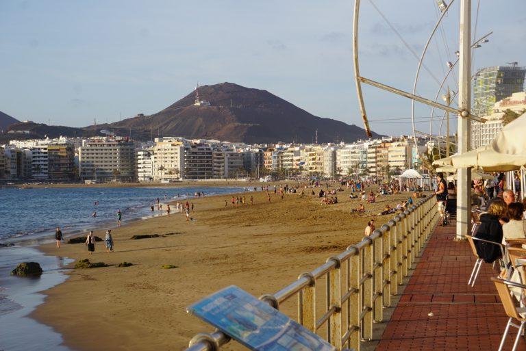 """Der Stadtstrand von Las Palmas """"Las Canteras"""""""