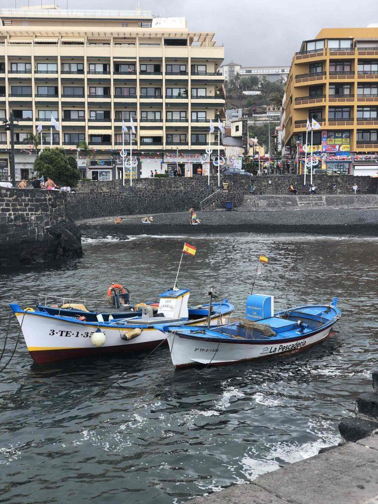 Der kleine Hafen von P.de la Cruz