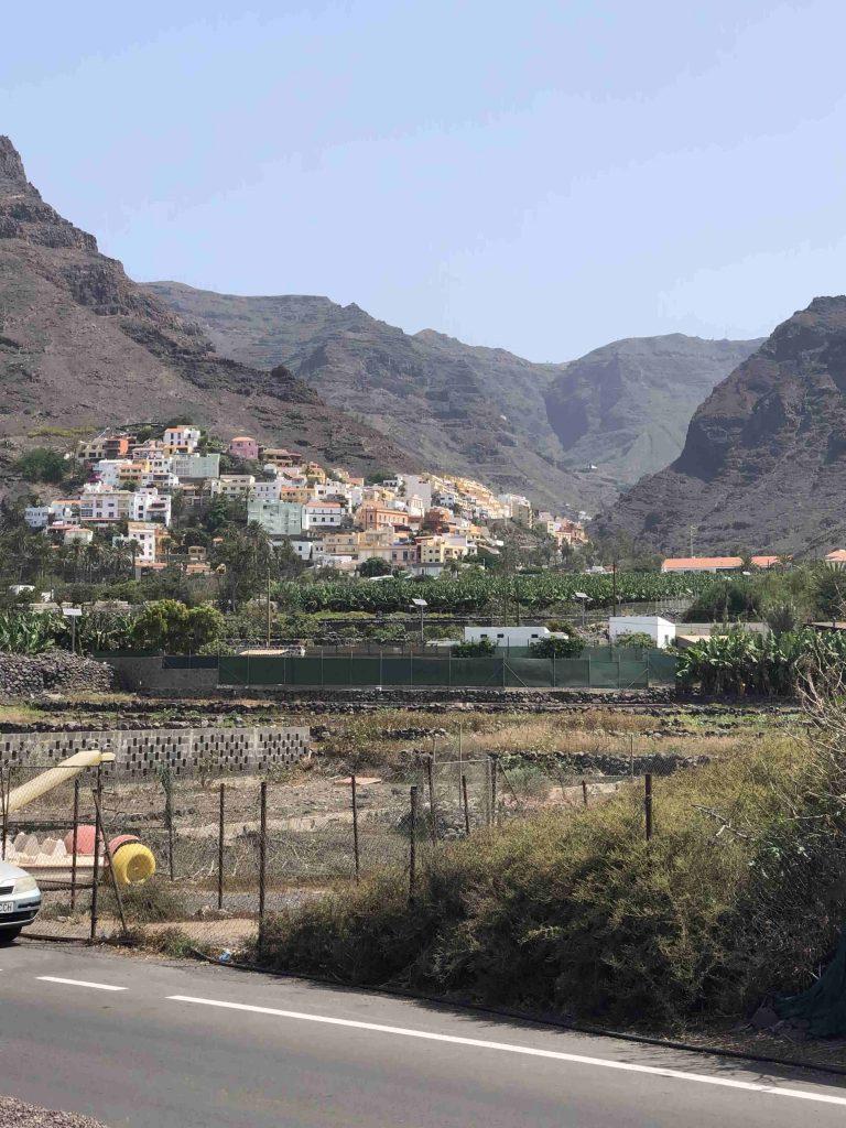 Blick auf La Galeta